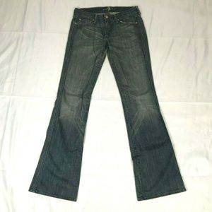 7 For All Mankind Flare Leg Jeans Women's size 27